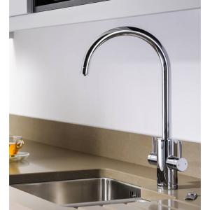 Abode Pronteau 4 in 1 Profile Monobloc Hot Water Tap Chrome