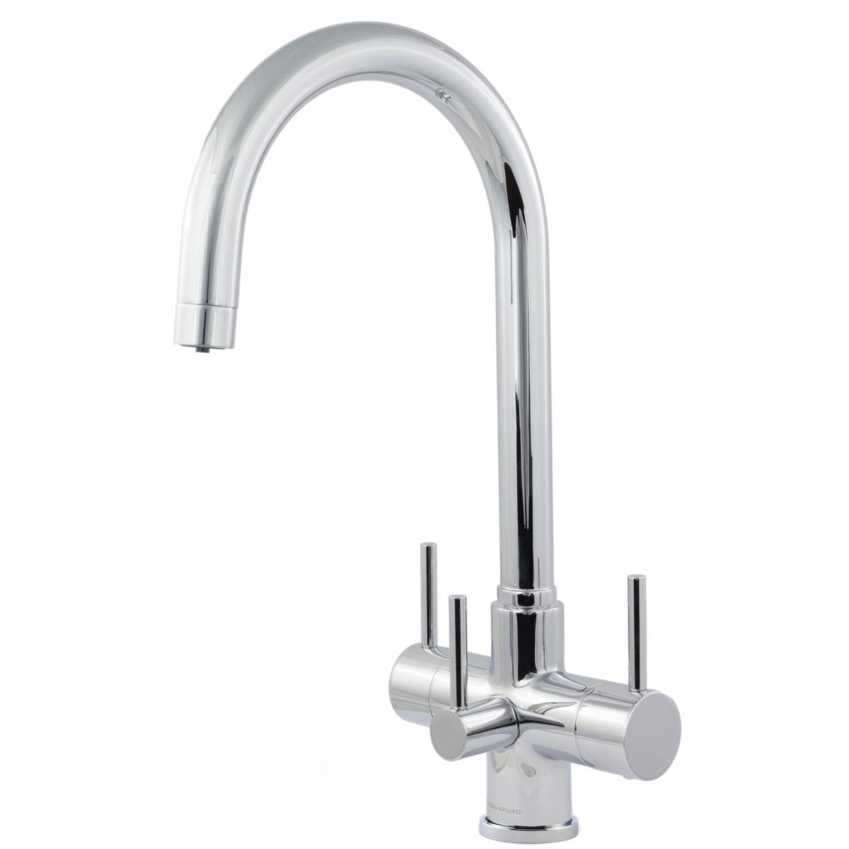 Verona 3 Lever 3 Way Tri Flow Kitchen Filter Tap Fountain Softeners