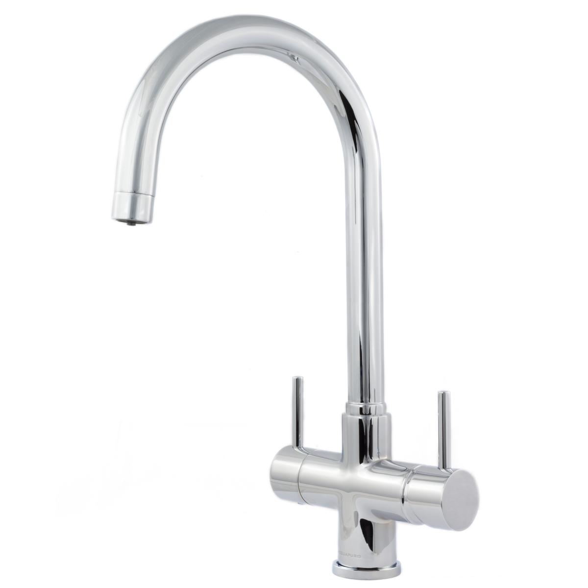 Verona 2 Lever, 3 Way Kitchen Tap