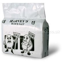 18 packs of Harvey Block Salt