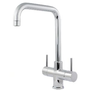 Monza 2 Lever 3 Way Kitchen Filter Tap