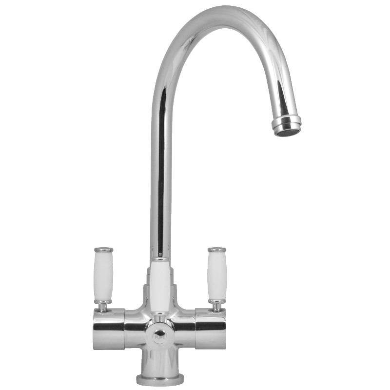 Levers Water Flow : Florence lever way kitchen filter tap fountain softeners