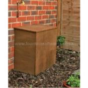 External Wooden Water Softener Cabinet