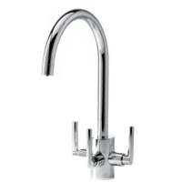 Cirrus Tri-Flow Kitchen Tap Chrome