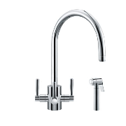Franke Olympus Filterflow 3-Way Triflow Tap with Hand Spray