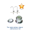 Intertap Filter Water Tap Chrome