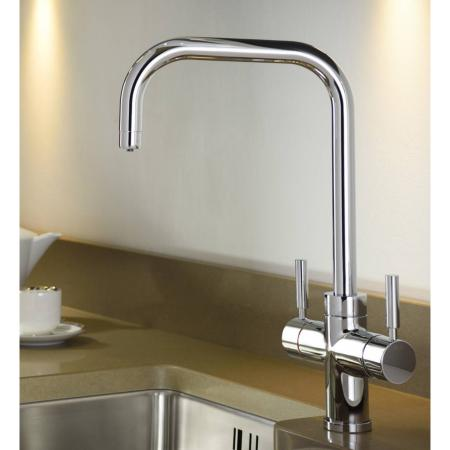 Abode Pronteau 3 in 1 Prostyle Steaming Hot Kitchen Tap Chrome