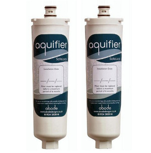 Abode Aquifier Genuine Water Filter -TWIN PACK