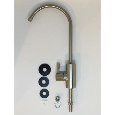 SALE - Mini Drinking Water Tap Quarter Turn Brushed Finish