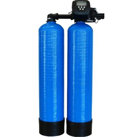 Duplex Commercial Water Softener 75-litre