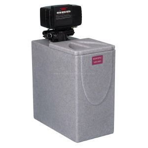 Medium domestic water softener